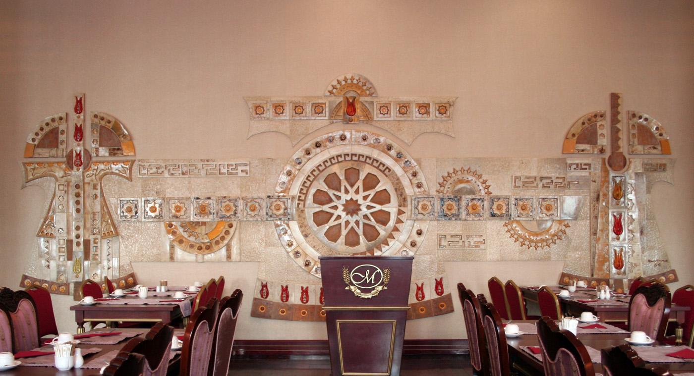 Meyra Otel Restaurant – Seramik Pano